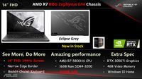 ASUS 14 FHD AMD R7 ROG ZEPHYRUS G14 CHASSIS ECLIPSE GREY Dungannon